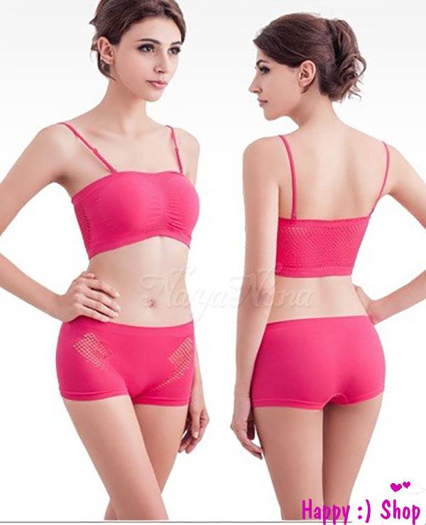 Bộ quần áo thể thao nữ FREEDOM màu hồng sen tươi trẻ TK683