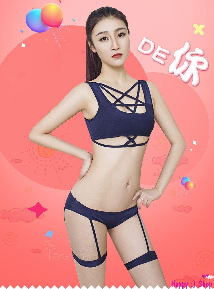 TK1071 do ngu kieu bikini nong bong 5