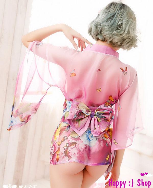 TK1225 ao ngu kimono hoa mua