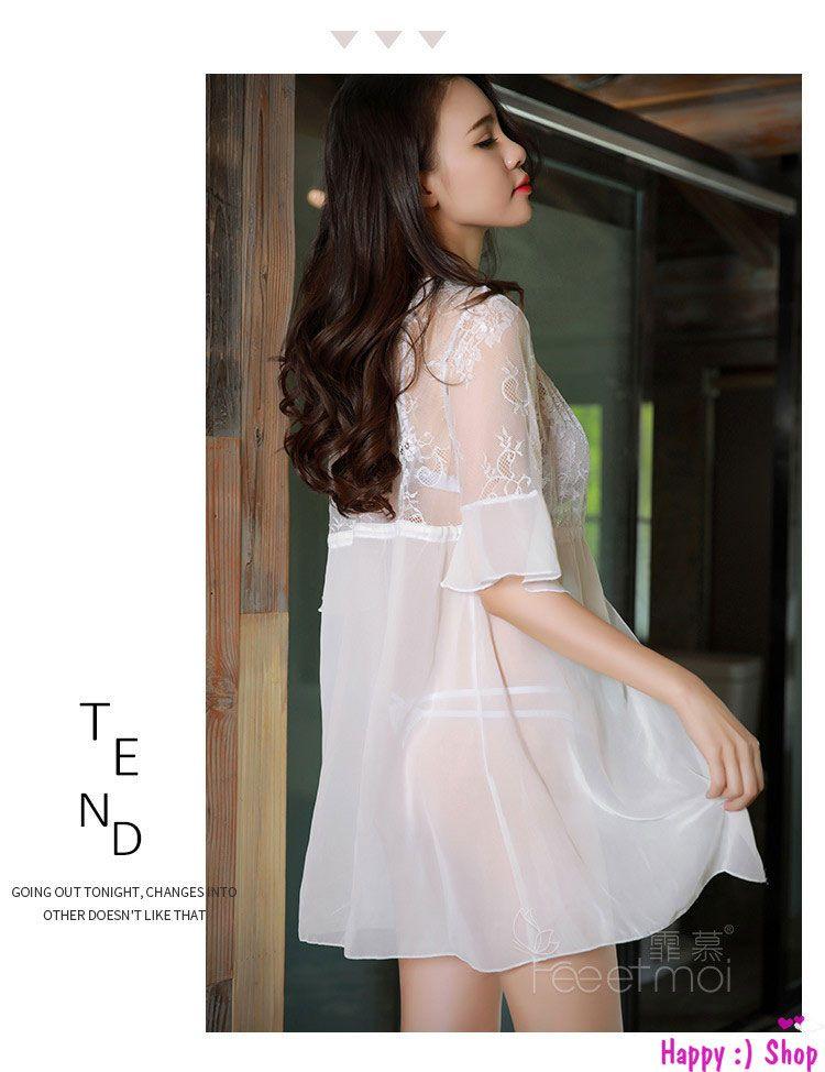 tk1165 ao choang kem bo do lot ren bralette xinh yeu mau trang 7