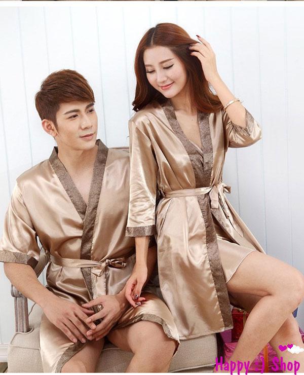 áo choàng ngủ cặp đôi nam nữ