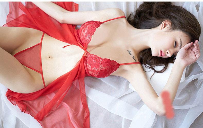 váy ngủ xẻ giữa sexy