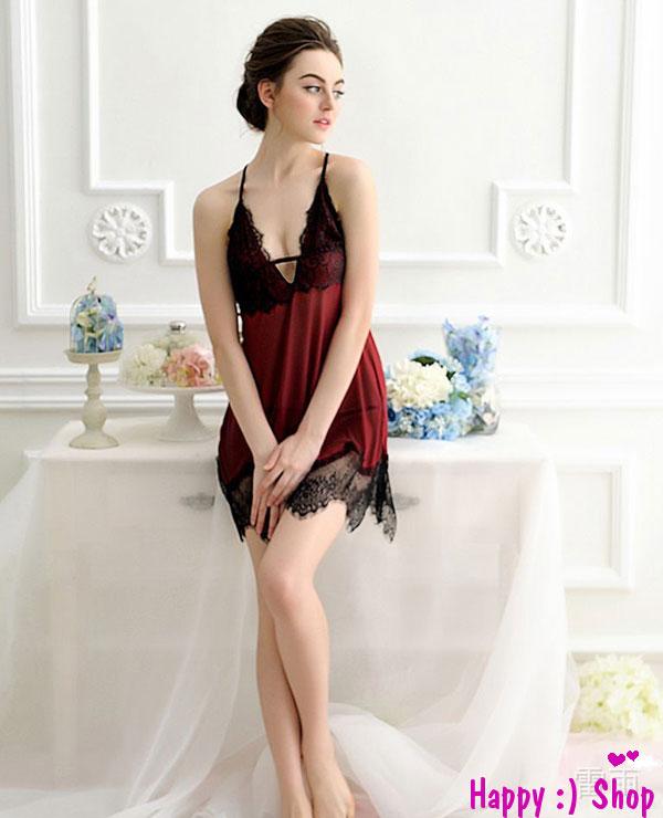 Đầm ngủ gợi cảm đỏ đô