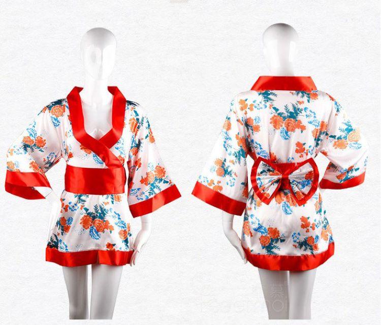 áo ngủ kimono nhật Bản