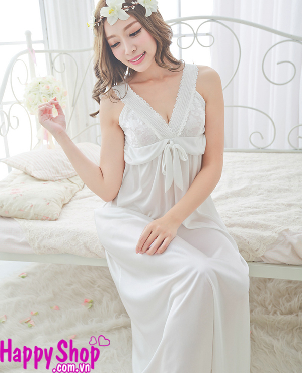 đầm ngủ cô dâu dài