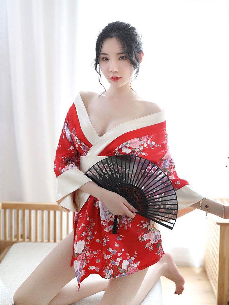 TK1823 ao ngu kimono goi cam 1