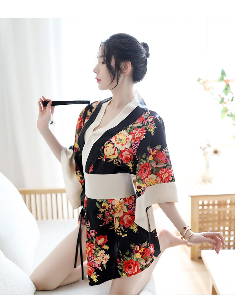TK1823 ao ngu kimono goi cam 9