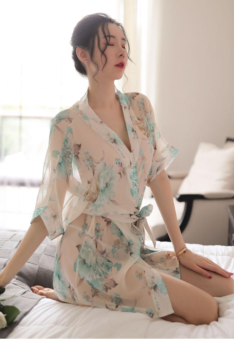 Ao ngu kimono hoa TK1891 11