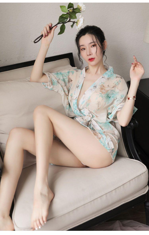 Ao ngu kimono hoa TK1891 12
