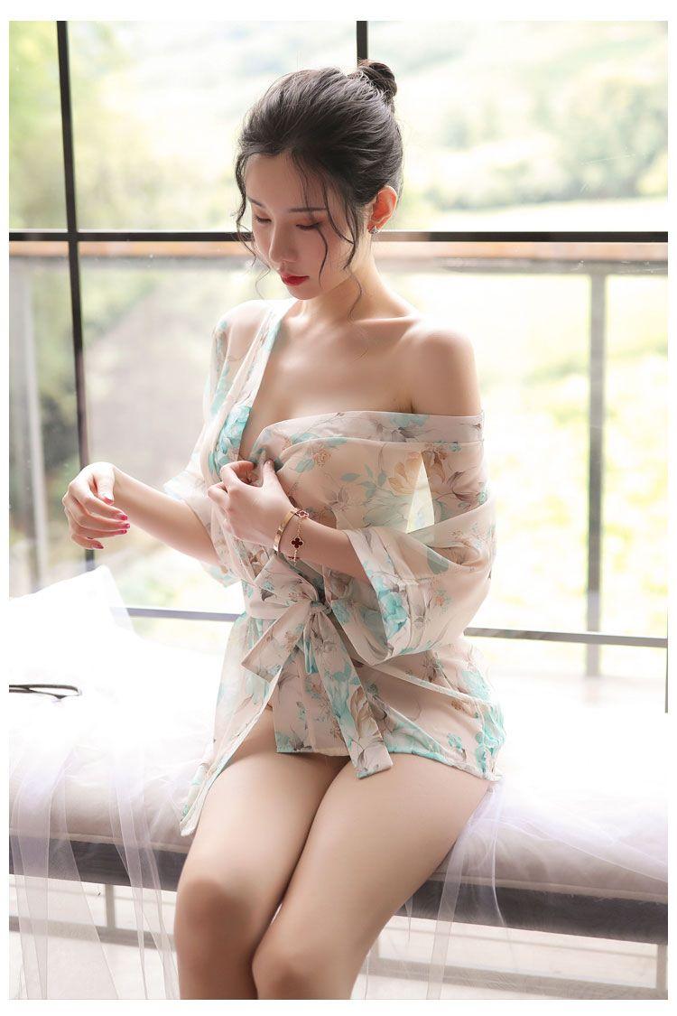 Ao ngu kimono hoa TK1891 6