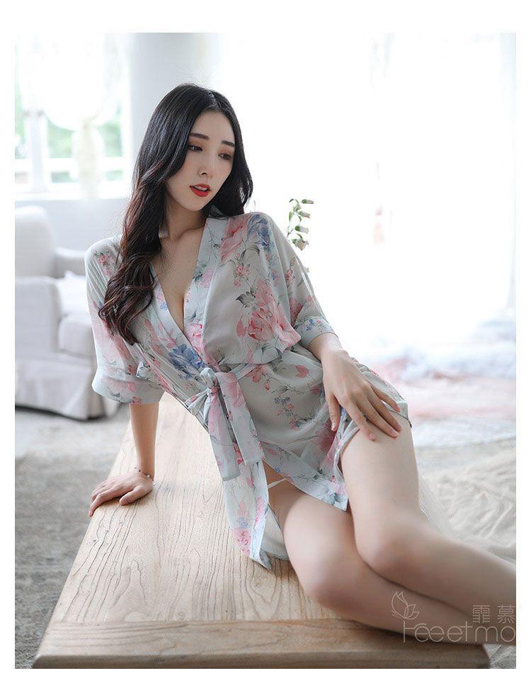 TK1891 ao ngu kimono hoa nhe nhang 6