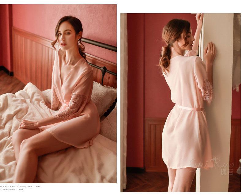 áo khoác ngủ nữ