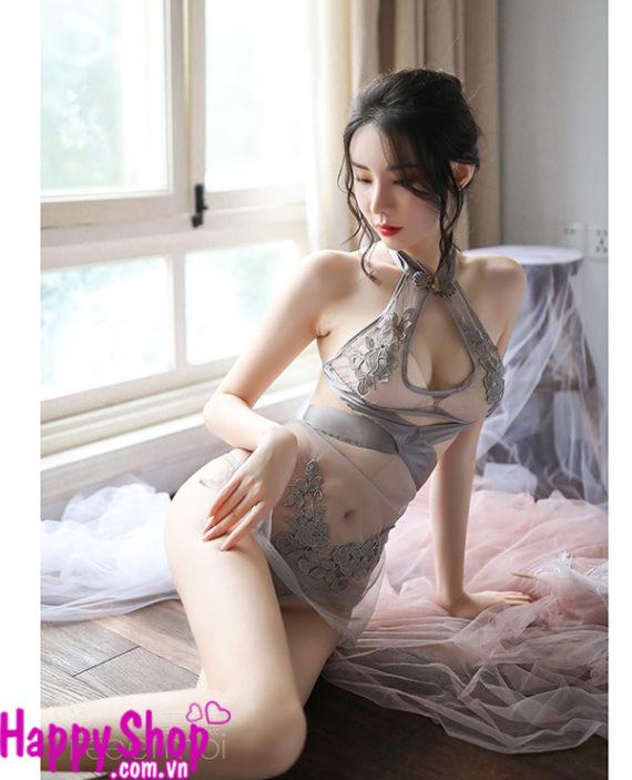 áo yếm trong suốt sexy