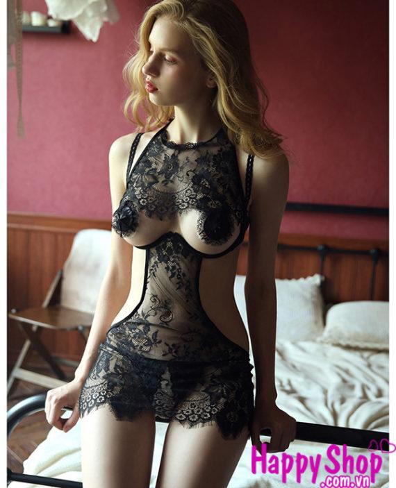 áo ngủ hở ngực
