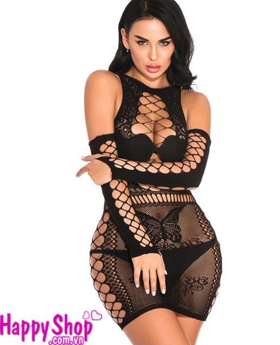 áo ngủ lưới