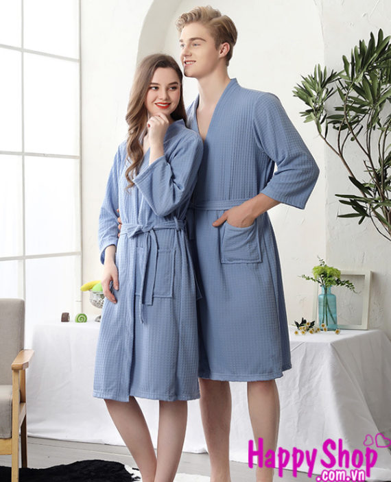 Áo choàng ngủ pijama nam nữ