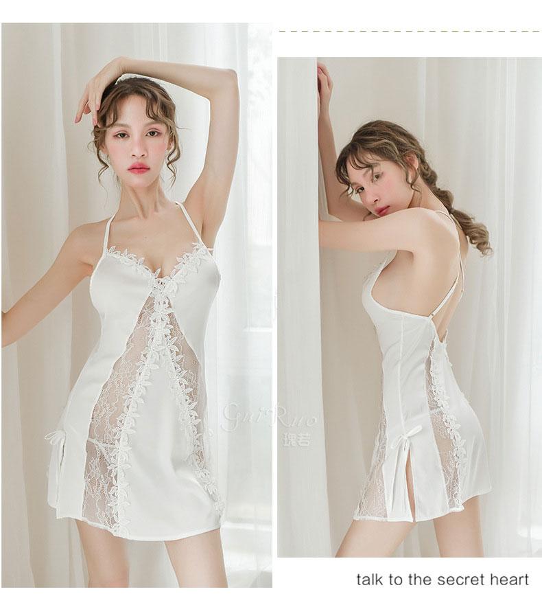 Váy ngủ trắng