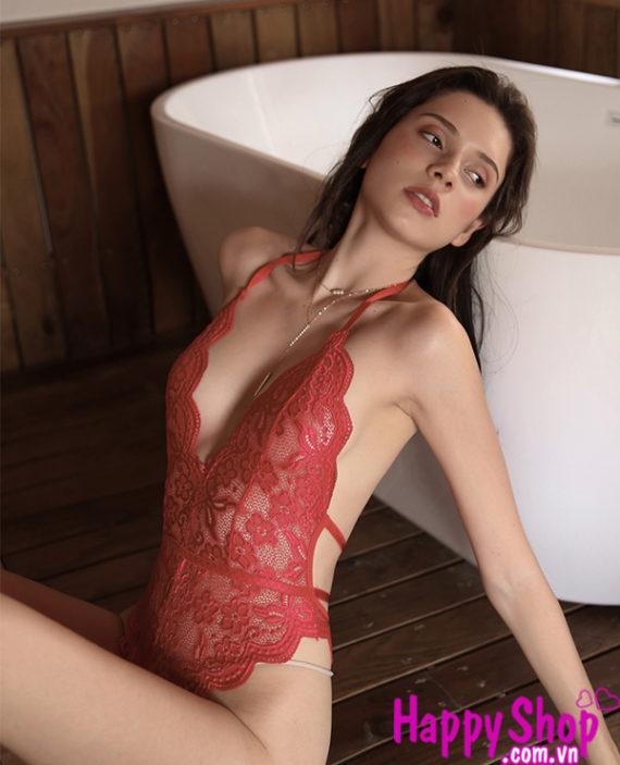 Áo ngủ bodysuit liền thân sexy