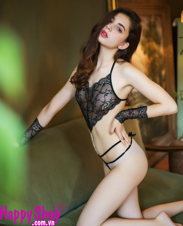 Áo yếm liền quần lọt khe sexy