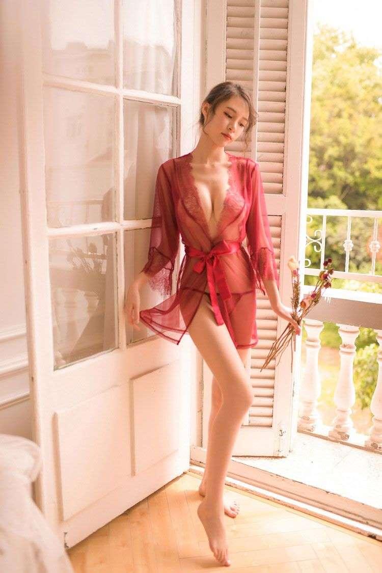 áo choàng ngủ sexy