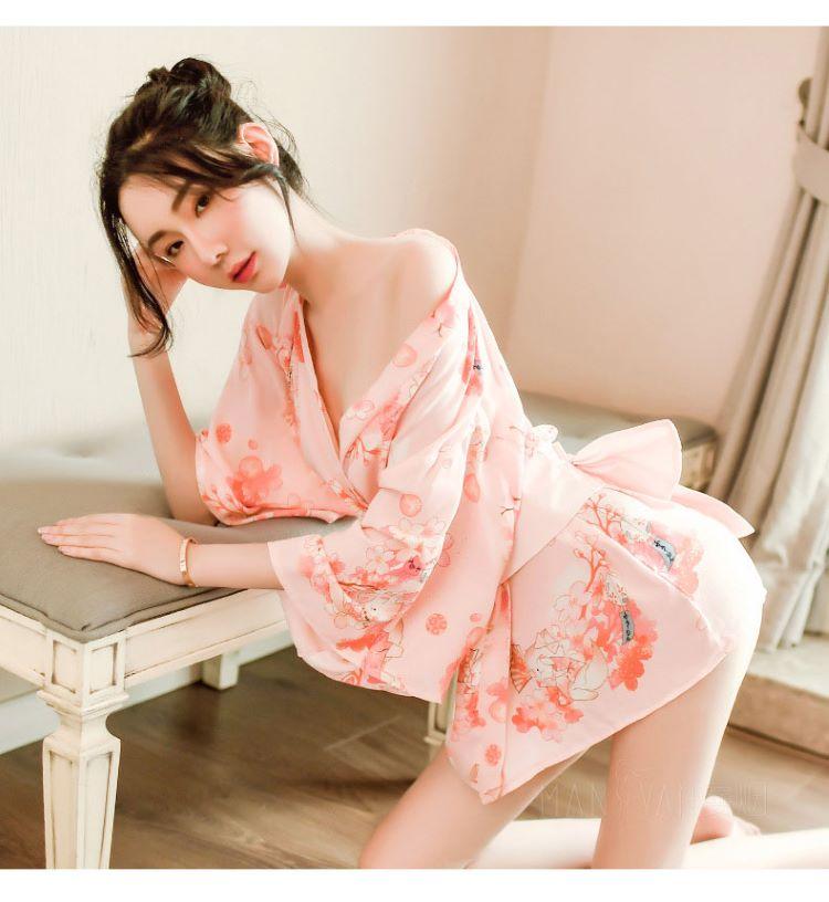 Ao ngu kimono hoa anh dao TK2230 8
