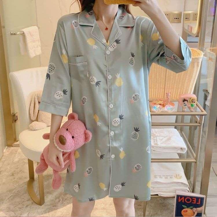 áo ngủ dễ thương