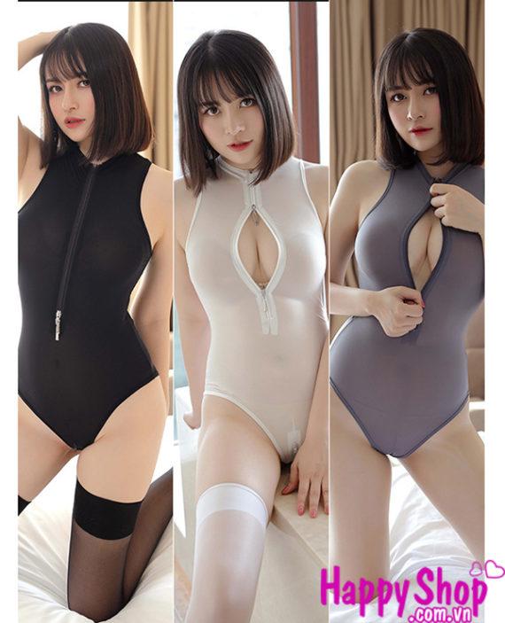 bodysuit hở ngực hở đáy