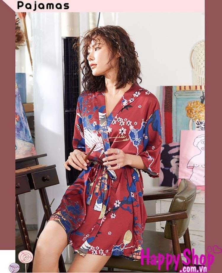 áo choàng ngủ nữ