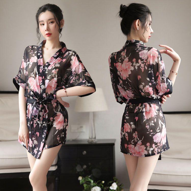 Ao choang kimono voan TK1891 1