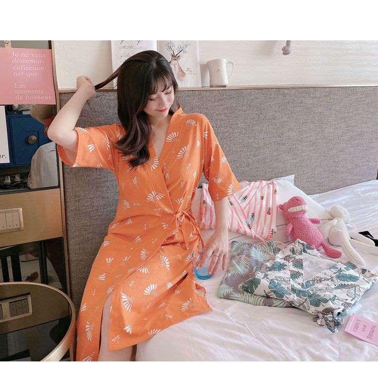 áo ngủ kimono