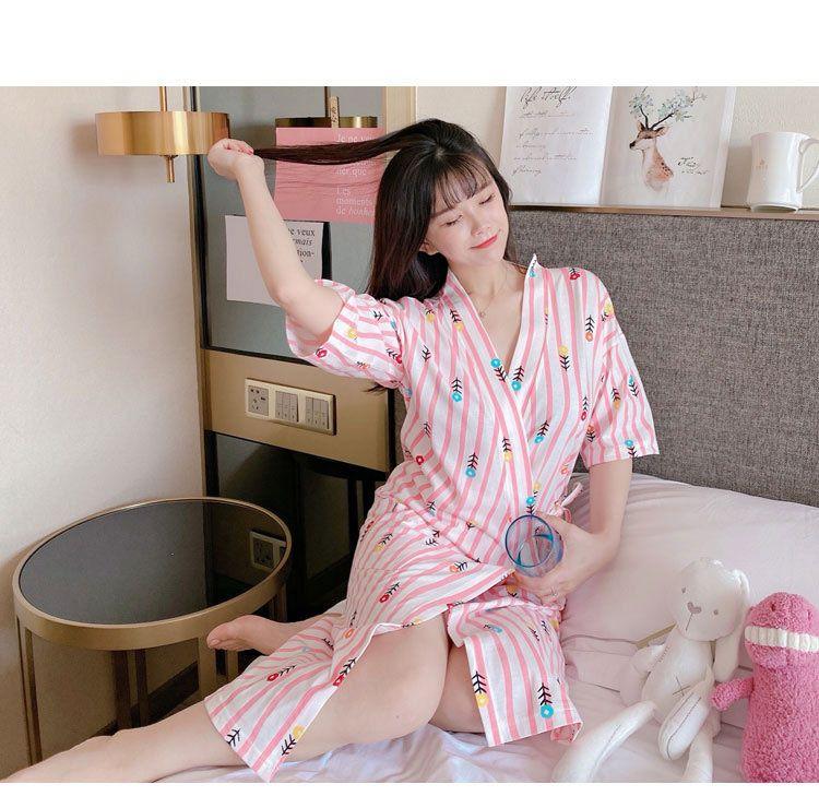 choàng ngủ kimono dễ thương
