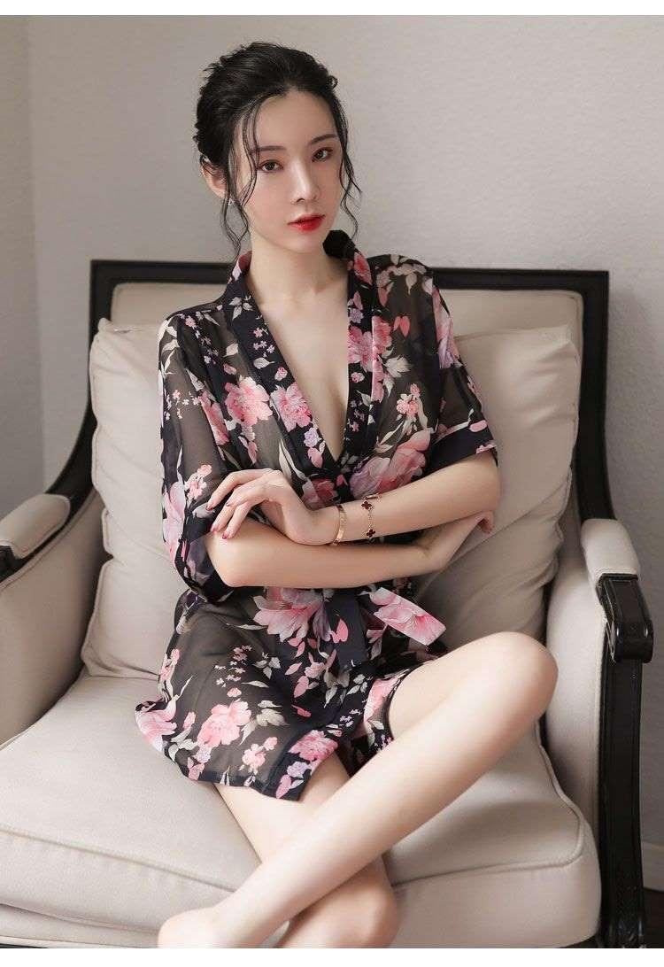 áo khoác ngủ kimono