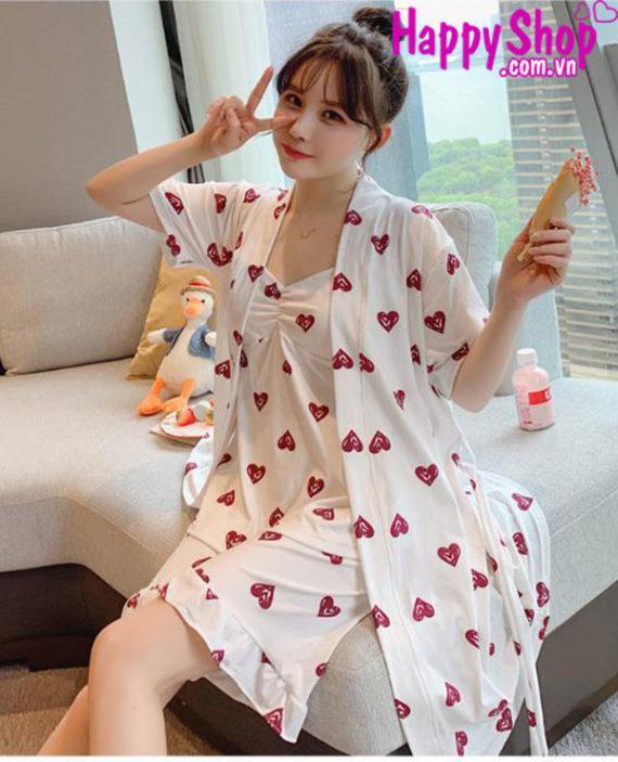 Bộ đồ ngủ pijama nữ dễ thương