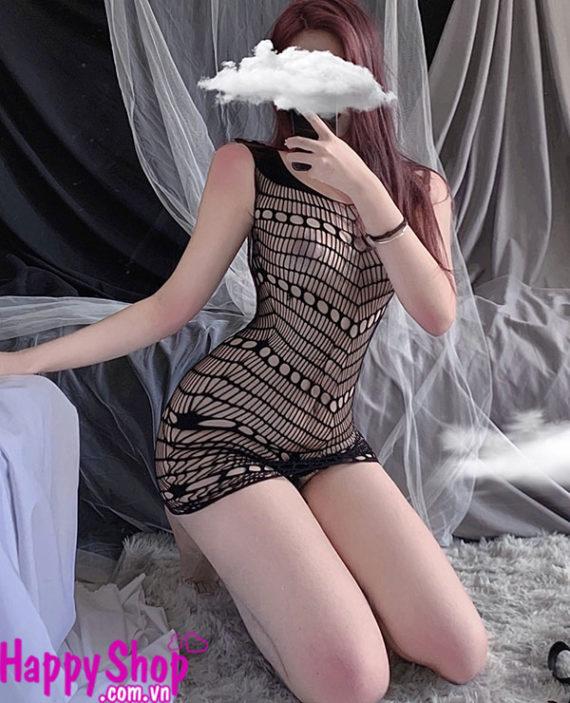 Váy ngủ lưới sexy