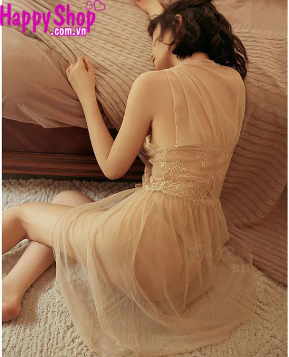 Đầm ngủ trong suốt