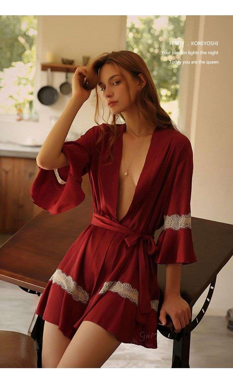 áo choàng ngủ đẹp