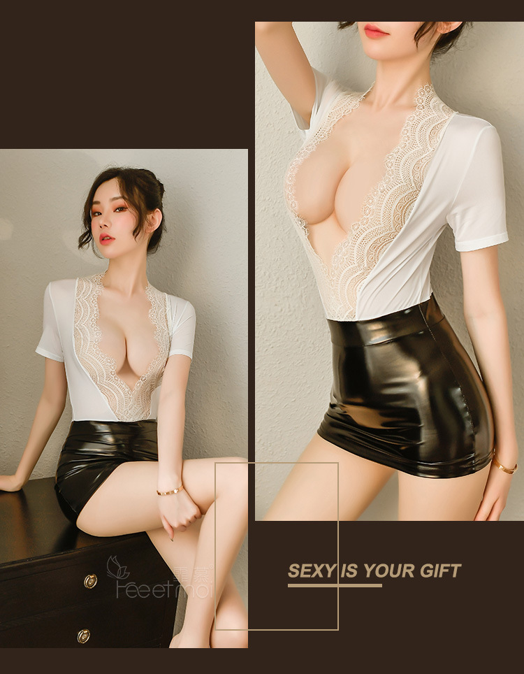 Cosplay thu ky sexy TK2355 18