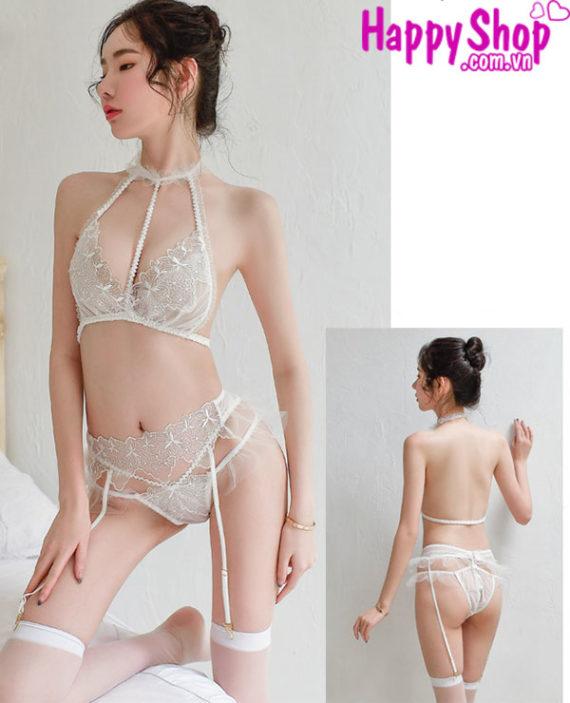 đồ lót ren kẹp vớ sexy