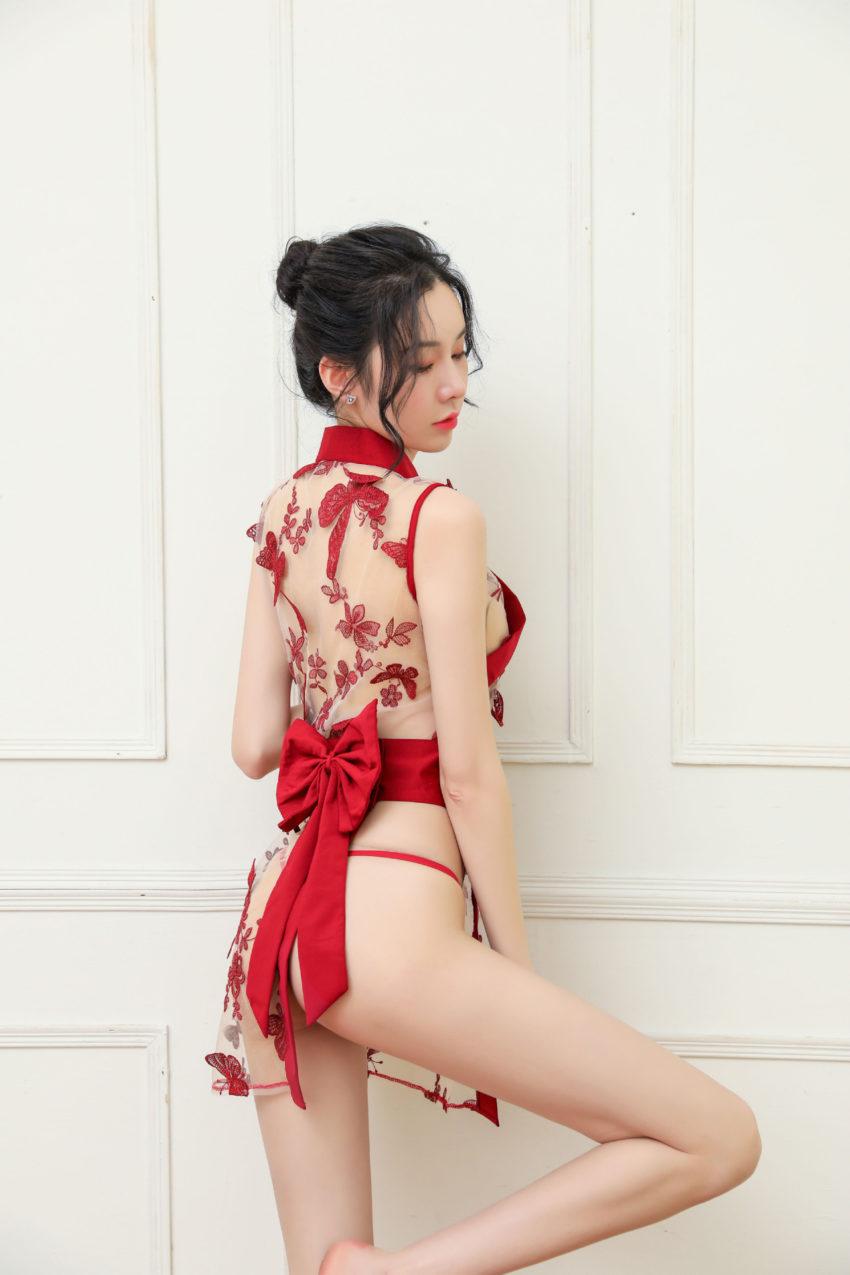 Ao ngu kimono trong suot TK2427 12