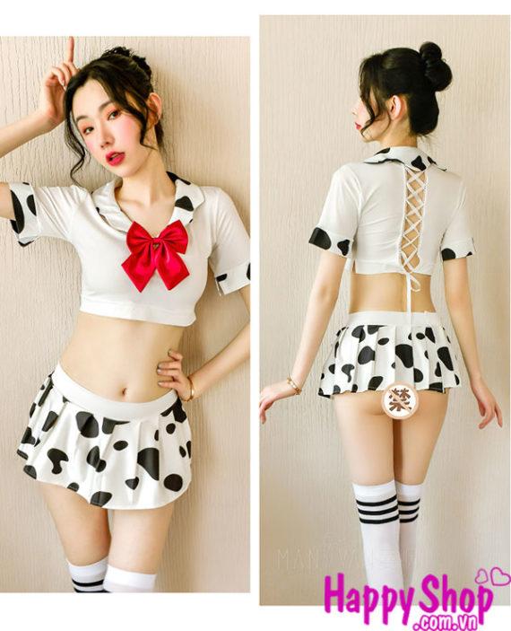 Đồng phục bò sữa học sinh