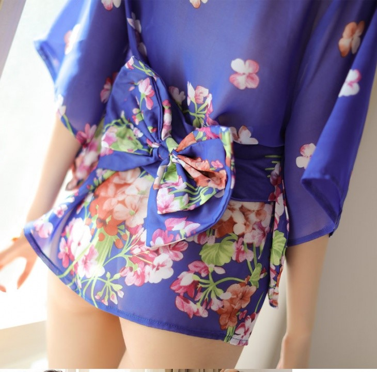 Ao kimono voan hoa sexy TK1225 22