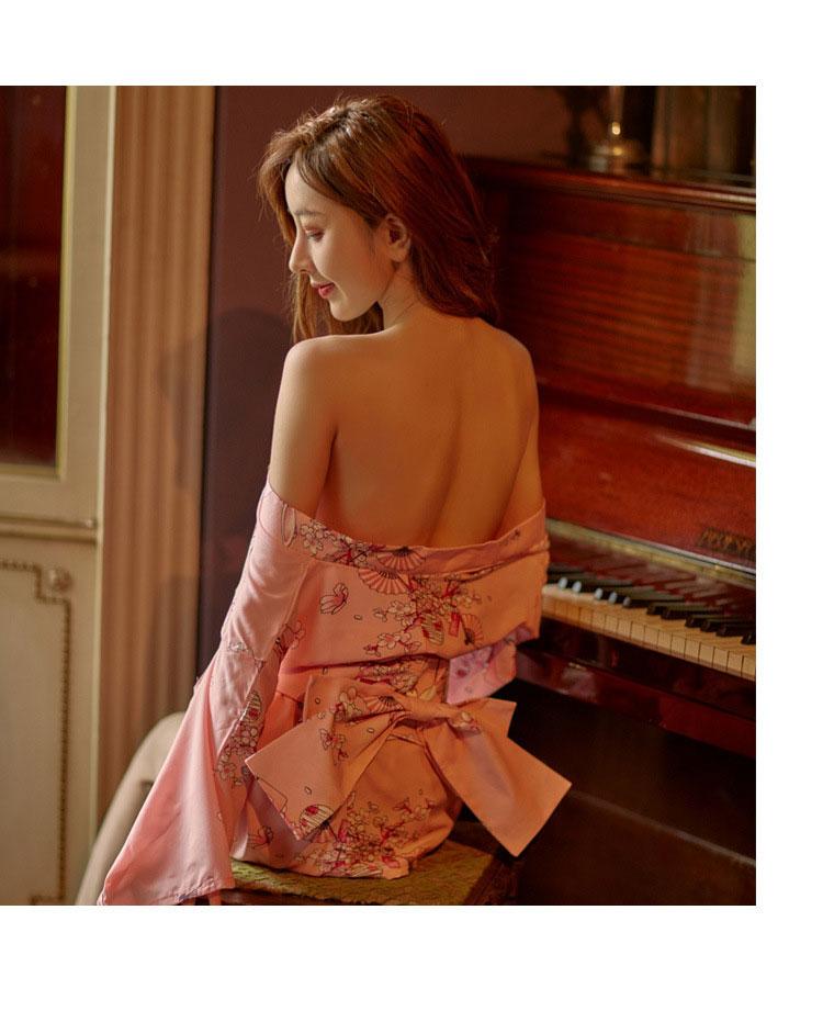 Cosplay kimono hoa anh dao Nhat Ban TK2534 12