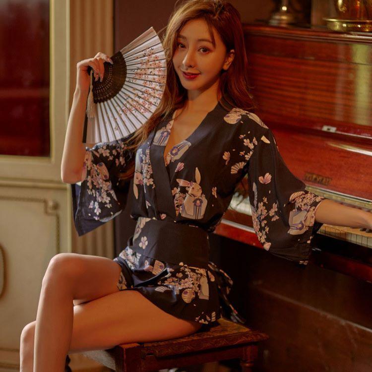 Cosplay kimono hoa anh dao Nhat Ban TK2534 2