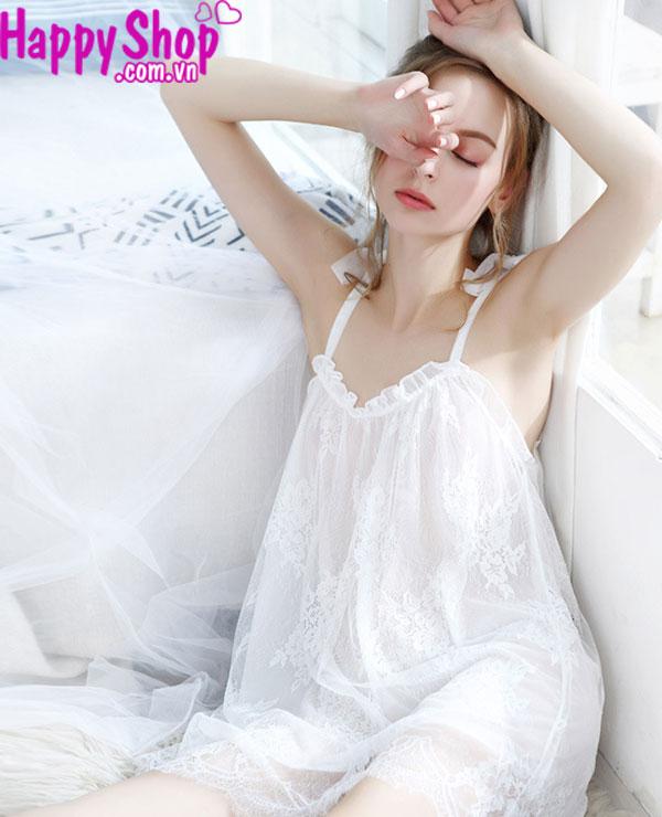 váy ngủ size lớn