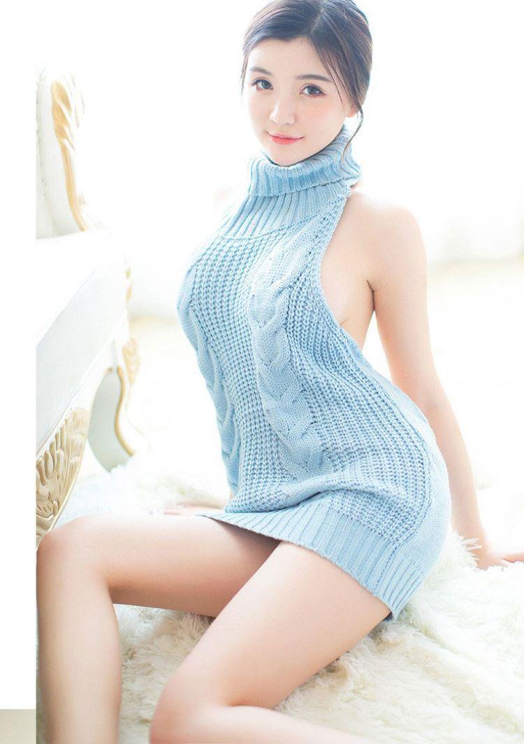 áo len sexy