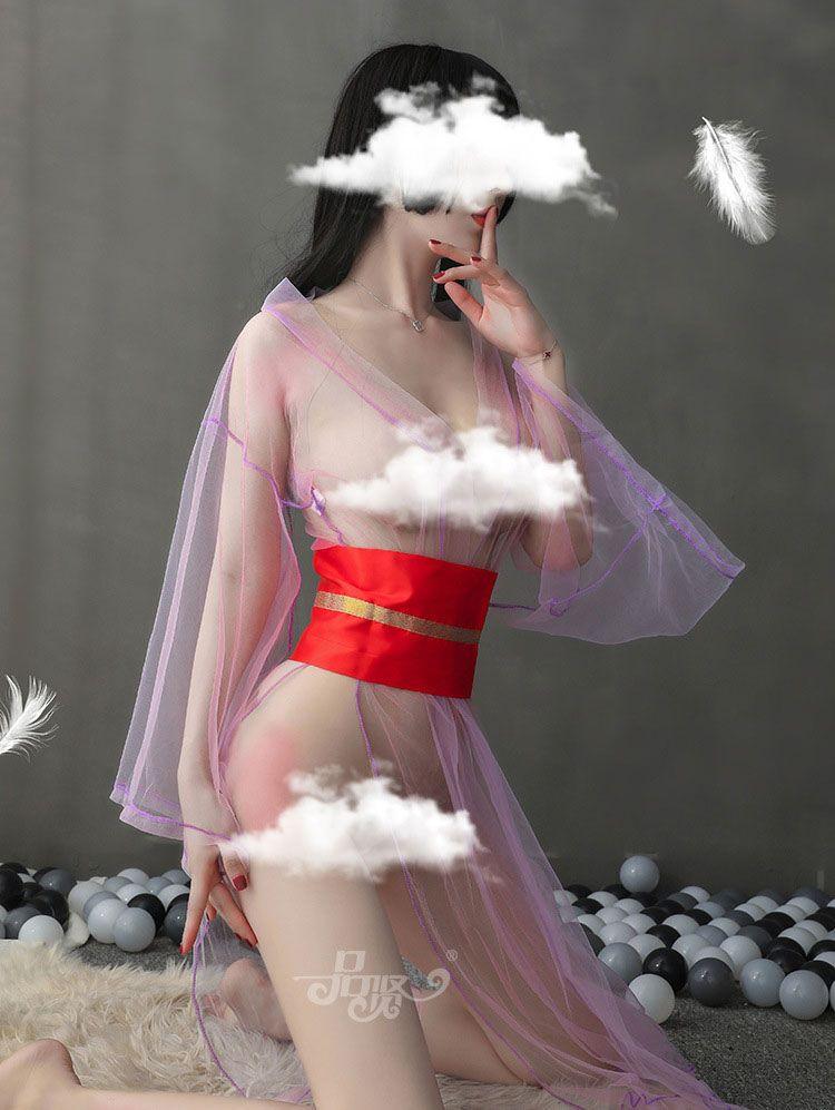 cosplay kimono sexy trong suot TK2558 2