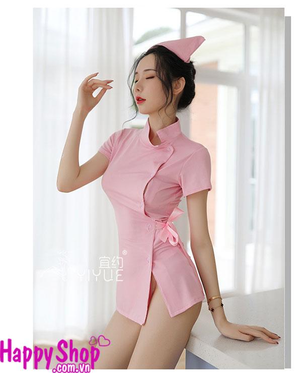 váy ngủ cosplay y tá