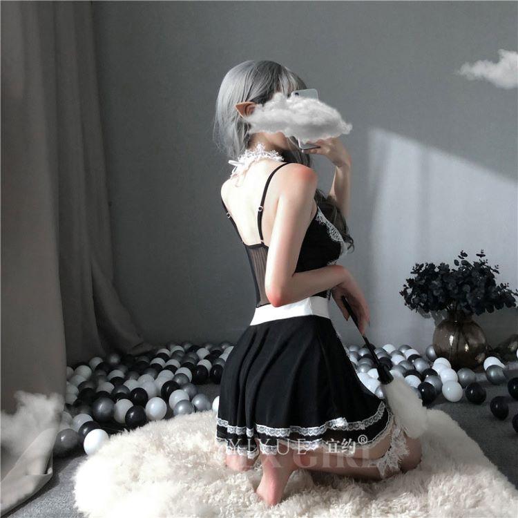 váy ngủ hầu gái