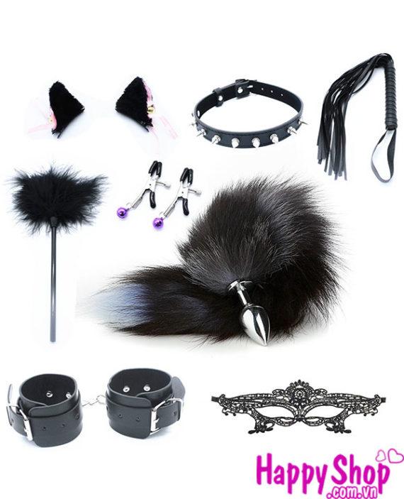 đuôi cáo cosplay set đồ chơi sm