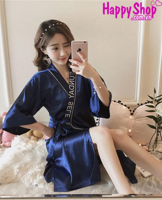 áo choàng ngủ kimono